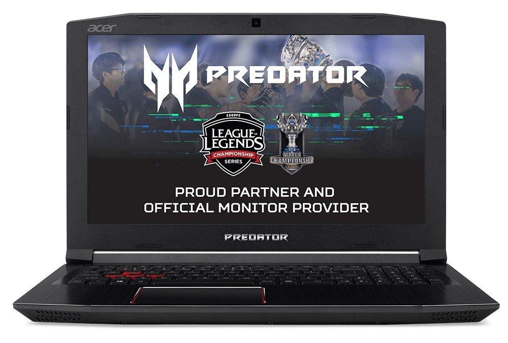 Acer NH.Q29EB.002 – Ordenador portátil de 17.3″ (Memoria de 12 GB, 1TB y 128GB SSD, GTX 1060 6 GB, Windows 10), Color Negro