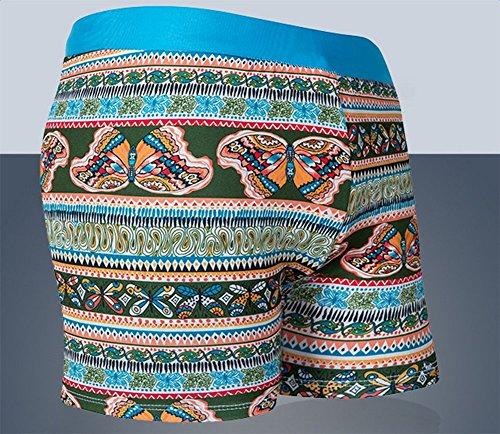 Demarkt fashion trend Herren Schwimmhose Badeshorts Badehose Badeboxer Kastenbadehose Badeslip Badepants Tarnung-1