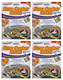 from Sealapack 20 Sealapack Slow Cooker Liners Cooking Bags 4 x 5 Pack For Round & Oval Cookers