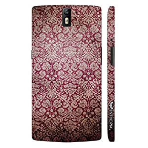 One plus One WALL PATTERN 2 designer mobile hard shell case by Enthopia