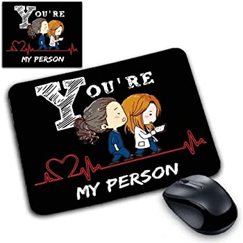 csm Informatica Tappetino Mouse Pad Grey's Anatomy You Are My Person Cuore