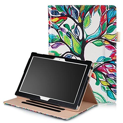 ProElite Smart handstrap Case cover for Lenovo Tab 4 10 / Tab 4 10 Plus Tablet (Tree)