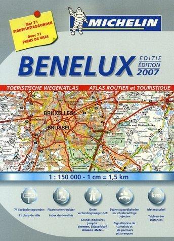 Benelux : Atlas routier et touristique par Michelin