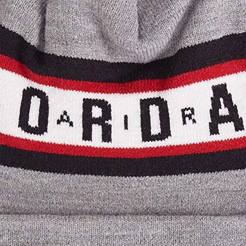 Imagen de jordan gorro beanie air cuffed gris osfa talla única para todos sexos  alternativa
