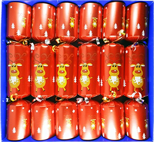 fill-your-own-christmas-crackers-box-of-6-large-barrelled-crackers-red-festive-reindeer-design