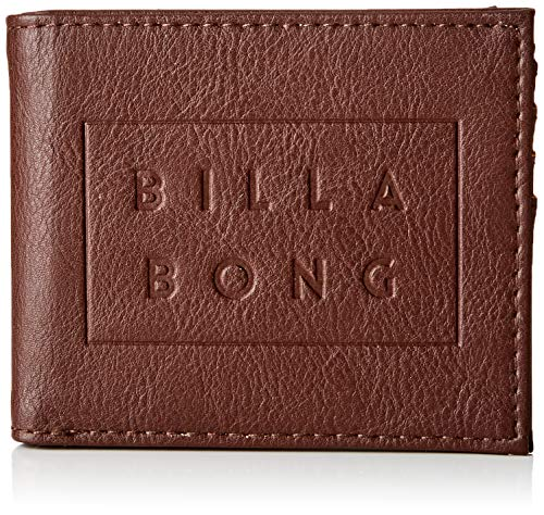 BILLABONG Die Cut, Bolsa Cartera Hombre, Marrón Chocolate
