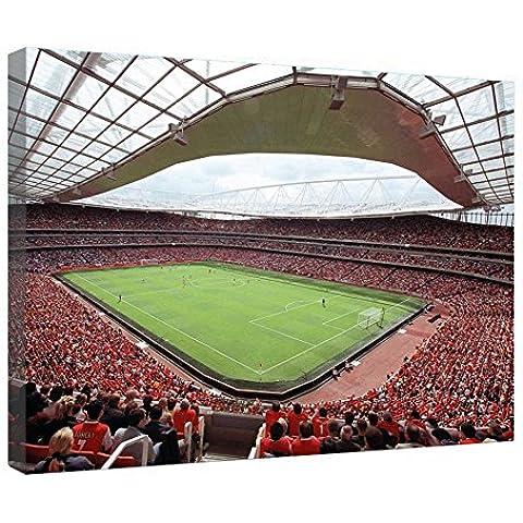 LeeQueen Las Impresiones Sobre Lona Arte de la Pared - Estadio Emirates - Antecedentes Consejo de Madera Estirada Abrigo de la Lona Listo Para Colgar Para el Hogar y la Decoración de la Oficina - 24