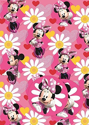 Image of Minnie Mouse Gift Wrap