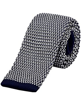 DonDon corbata de punto estrecha 5cm - de diferentes colores