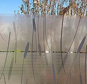 LINEA fix pose film adhésif marismas roseau au mètre de 46 cm de haut