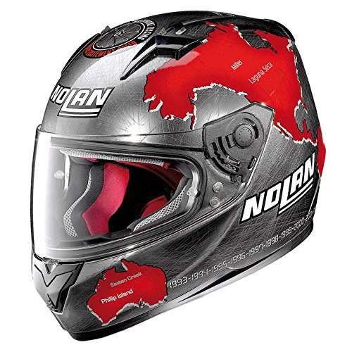 Casco integral Nolan N64 Gemini Replica C. Checa TG L