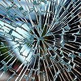Fenster Splitterschutz Folie 200 x 152cm Sicherheitsfolie Splitterschutzfolie Einbruchschutzfolie Fensterfolie Folie