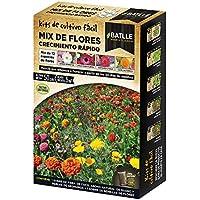 Huerto Urbano - Mix de flores Crecimiento rápido - Batlle