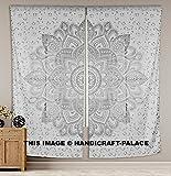handicraft-palace-Mandala Fenster Tür Vorhang Aufhängen Balkon-Set ROOM DECOR Vorhang Boho Ethnic Fenster Behandlungen & Einsätze Set