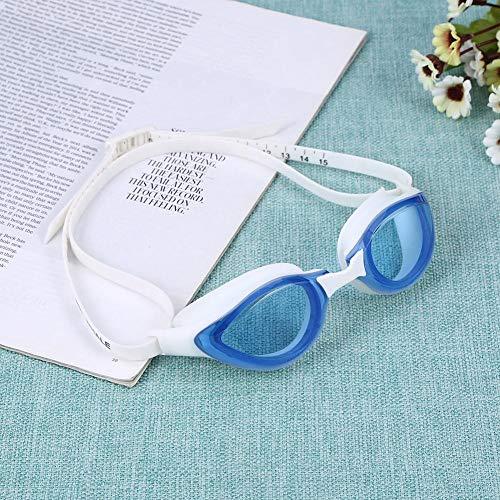 Everpert Einstellbare Schwimmbrille Anti Fog UV Protecion Silikon Dioptrien Erwachsene Brillen Männer Frauen Zwembril (CF-9305) -