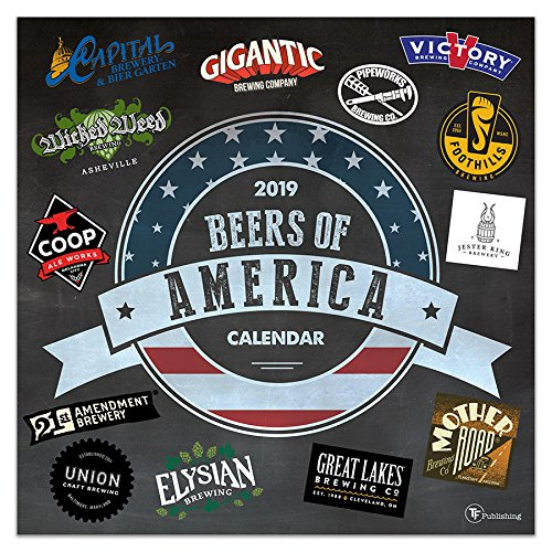 Beers of America 2019 Wall Calen...