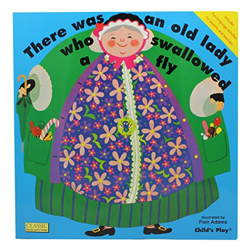 There Was an Old Lady Who Swallowed a Fly (Classic Books with Holes Big Book)