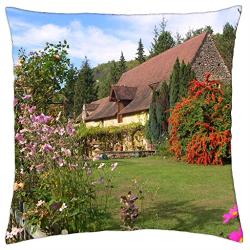 Manor House - France - Throw Pillow Cover Case (18\