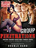 EROTICA:GROUP PENETRATIONS:Threesome Foursome Swingers Cuckold Big Rough Men Women Explicit Sex Stories: MFM MMF MMMF 15 Adult Books (First Time Innocence Used)