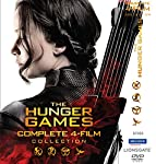 Boxset of all The Hunger Games Series - The Hunger Games, The Hunger Games:Catching Fire, The Hunger Games: Mockingjay Part 1, The Hunger Games:Mockingjay Part 2.