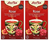 (2er BUNDLE)| Yogi Tea - Rose Tea -17bag