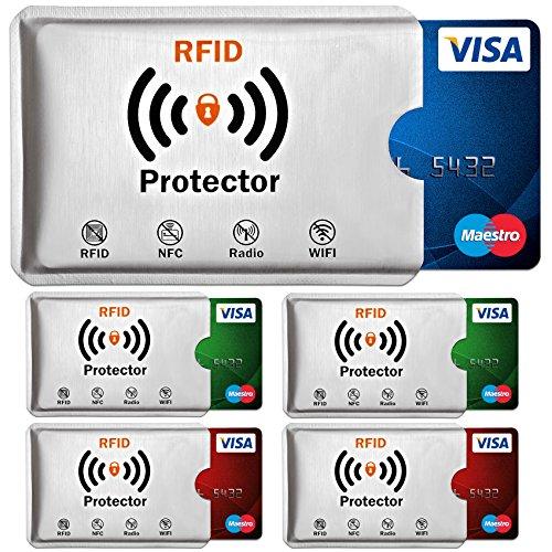Travando ® RFID-Schutzhülle Set ...