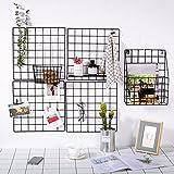 WXGY DIY Grid-Foto-Wand Gr Metallgitterwand Maschendisplay, Wand-Kunst-Anzeige-Organisator , Memoboard, Anschlagbrett, Foto-Anzeige-Klammern