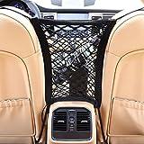 Auto Organizer Netz Schutznetz & Ablagefach I Universal & Elastisch I KFZ Netztasche Sitz Halter für Wasser/Handy / Spielzeug