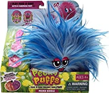 Mookie Peeka Puffs felpa juguetes (azul)