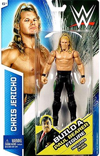 WWE, Basic Series, Chris Jericho Exclusive Action Figure [Build Paul Bearer] by Mattel