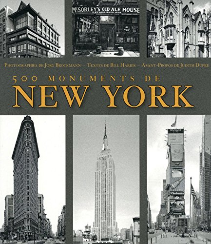 500 monuments de New York par Bill Harris