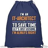 Enterprise Architekt Turnbeutel   IT-Architekt Gymsac