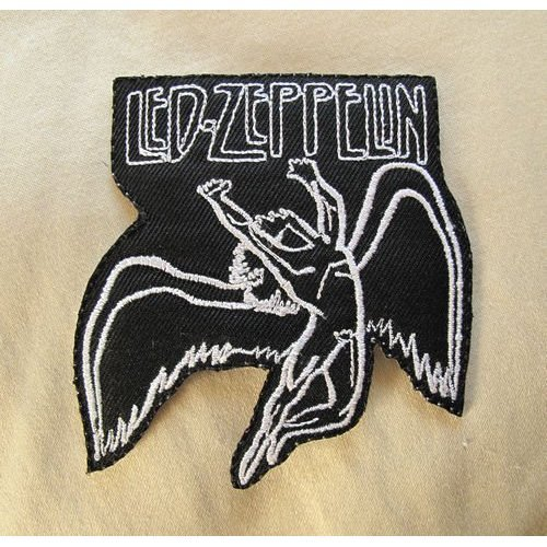 Aufnaher LED ZEPPELIN Patch Rock Band Iron on Sew Applique Embroidered patches Verkauft von R.M.A.. - Applique Rock