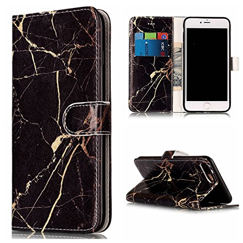 Für Apple IPhone 7 Plus Horizontale Flip Case Cover Luxus Blume / Marmor Textur Premium PU Leder Brieftasche Fall mit Magnetverschluss & Halter & Card Cash Slots ( Color : H ) H