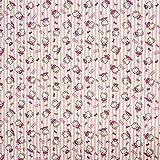 Dekostoff Hello Kitty Katze Streifen rosa weiß