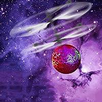 Jiayuane Mini Flying Ball, infrarrojos de inducción Helicopter Teenagers Colorful Flying Toy para niños