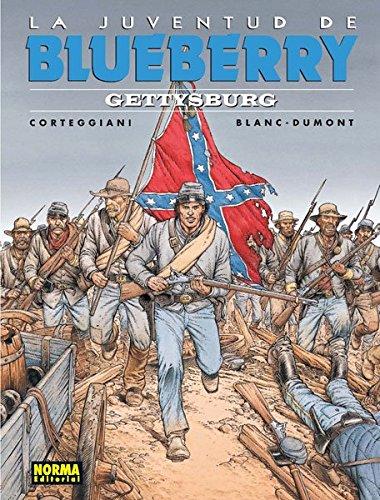 Blueberry 53. La juventud de Blueberry. Gettysburg