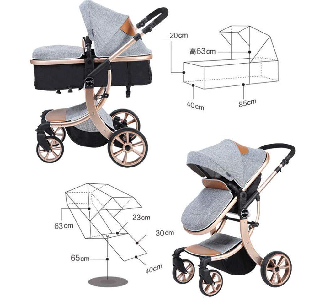 Lvbeis Newborn Pushchairs Baby Strollers Buggy Fold Prams  LIGHTWEIGHT & CONVENIENT: Lvbeis stroller is suitable for children from 3 to 36 months and accommodates children up to 40 pounds. MULTIPLE POSITION RECLINING SEAT: Three positions can be adjusted, sitting mode, semi-lying mode, and full lying mode. LOCKABLE SWIVEL WHEELS: shock absorbing front wheels and foot-activated rear brake system, you can control it easily. It provides you a smooth ride over all types of everyday terrain 5