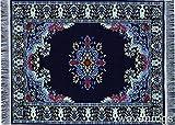 NAVY blau Orientteppich Mousepad–Türkischer Stil Kleinen Teppich Webteppich Mauspad