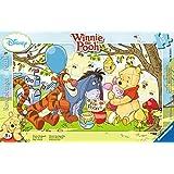 Ravensburger 06018 - Winnie Pooh Honigparty - 15 Teile Rahmenpuzzle