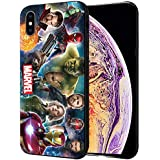 MTT Marvel Avengers Infinity War Printed Mobile Back Case Cover for Apple iPhone X & Xs