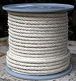 En sisal diamètre: 8 mm-longueur 50 m de bobine de corde de sisal