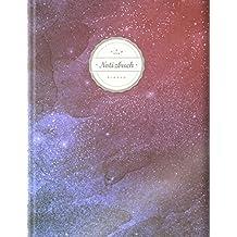 """/""""Rosa Aquarell/"""" Blankobuch Skizzenbuch Blanko Notizbuch Seitenzahlen    Leeres Notizbuch zum Selbstgestalten    Mit Register Tagebuch /©Star, A4, 156 Seiten, Softcover Zeichenbuch"""