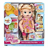 Muñeca Sara Blonde de My Super Snacking Baby, de Baby Alive
