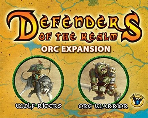 Eagle-Gryphon Games EAG01433 - Brettspiel 'Defenders of the Realm: Orcs'