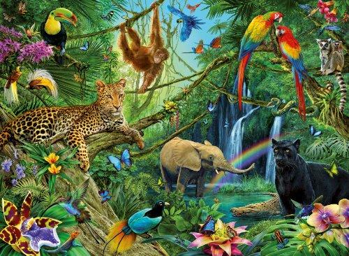 Ravensburger Puzzles Ravensburger Jungle