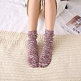 calcetín Ausgezeichnetes Produkt Cotton Socks_Mori weibliche Serie Socken ethnischen Wind Retro weiblichen Baumwolle 10 Paare, rot