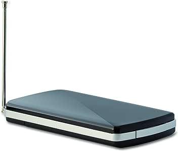 Telestar 5310506 Digiporty T 2 Mobile DVB-T2 HD WLAN Hotspot mit Akku (streamt per Sender an eine kostenlose App) schwarz