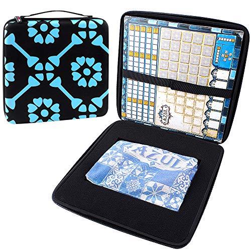 COMECASE Karten Tragen Tasche für Pegasus Spiele 54801G - Azul Spiel (Next Move Games) - Schwarz (Bam Taschen)