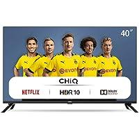 CHiQ L40H7N, 40 Pouces, Téléviseur Full HD, Smart TV, 1080p, WiFi, Bluetooth, Prime Video, Youtube, Netflix, 3 HDMI, 2…